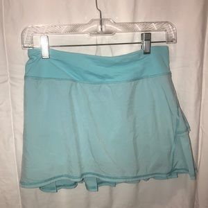 blight blue lululemon skirt